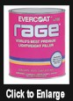 Rage Premum Body Filler - Quart